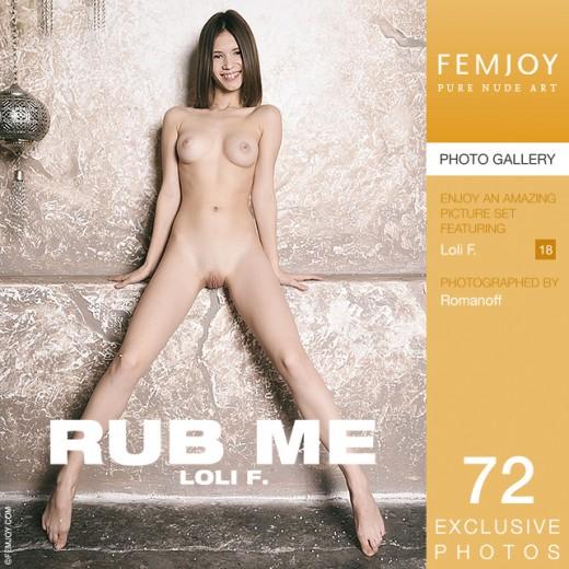 Loli F - `Rub Me` - by Romanoff for FEMJOY