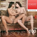 Dido & Malati in Lessons gallery from FEMJOY by Peter Astenov