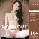 Vanessa A in Sincerely Yours gallery from FEMJOY by Evita Vesela
