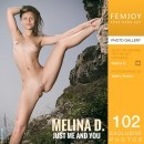Melina D in Just Me And You gallery from FEMJOY by Valery Anzilov