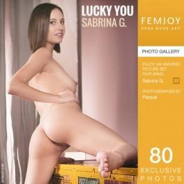 Sabrina G  from FEMJOY