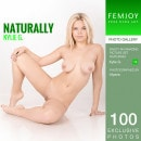 Kylie G in Naturally gallery from FEMJOY by Ulyana