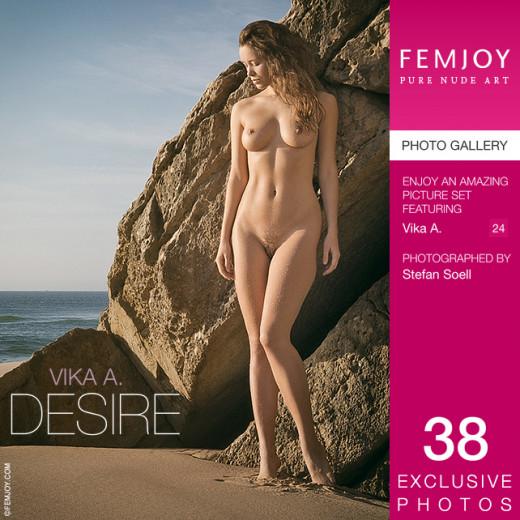 Vika A in Desire gallery from FEMJOY by Stefan Soell