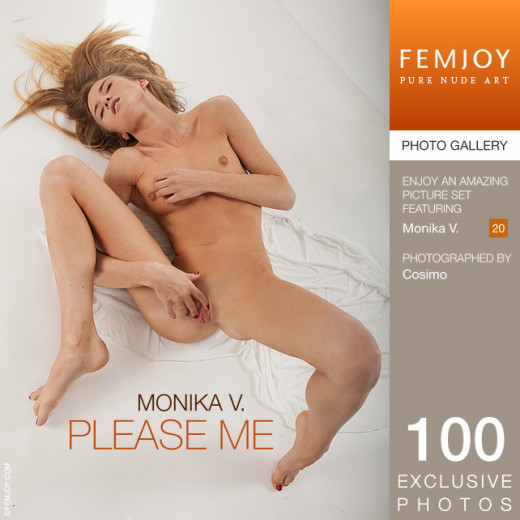 Monika V - `Please Me` - by Cosimo for FEMJOY