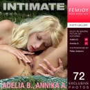 Adelia B & Annika A in Intimate gallery from FEMJOY by Peter Astenov