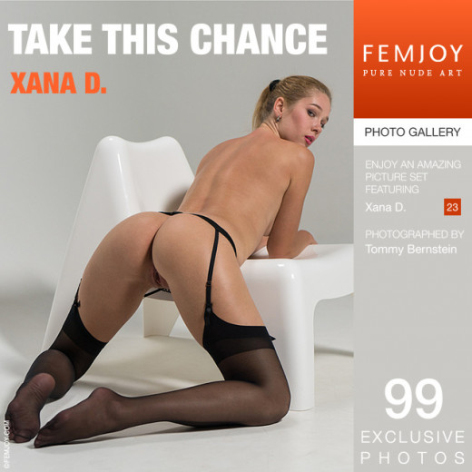 Xana D - `Take This Chance` - by Tommy Bernstein for FEMJOY