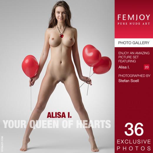Alisa I in Your Queen Of Hearts gallery from FEMJOY by Stefan Soell