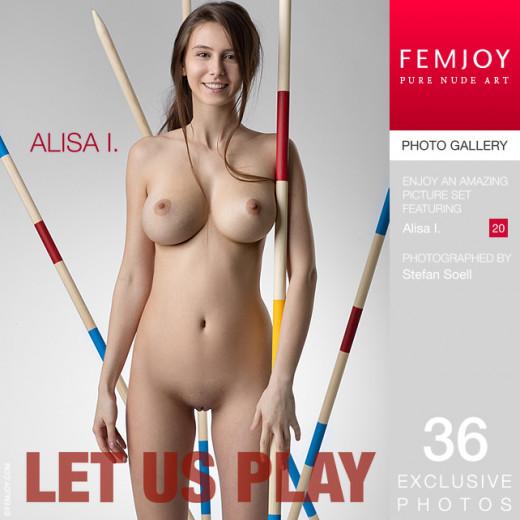 Alisa I - `Let Us Play` - by Stefan Soell for FEMJOY