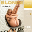 Vika P in Blonde gallery from FEMJOY by Tommy Bernstein