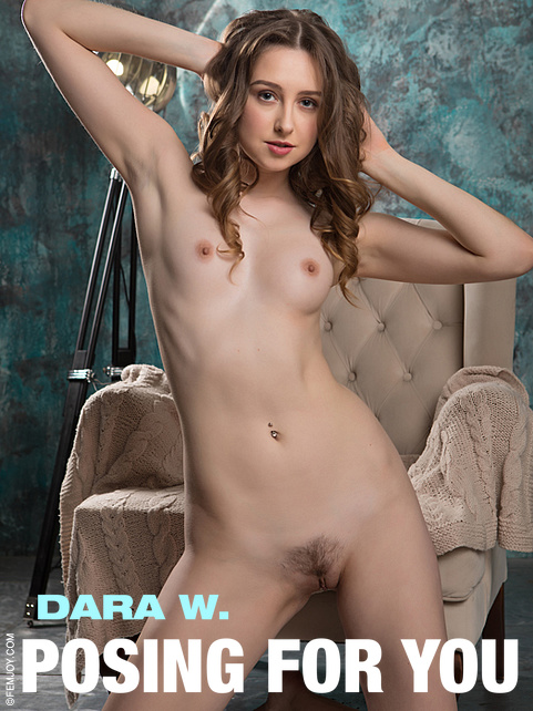 Dara W - `Posing For You` - by Tom Leonard for FEMJOY