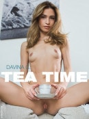 Davina C in Tea Time gallery from FEMJOY by Pazyuk