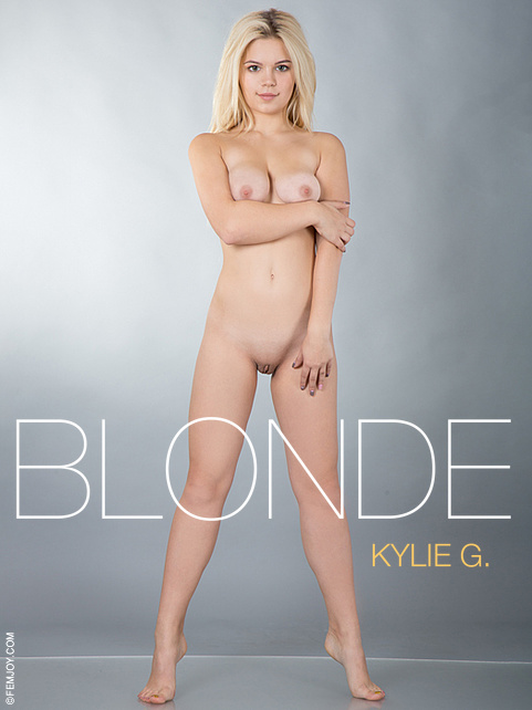 Kylie G - `Blonde` - by Cosimo for FEMJOY