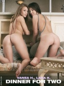Lana K & Vanea H in Dinner For Two gallery from FEMJOY by Ulyana