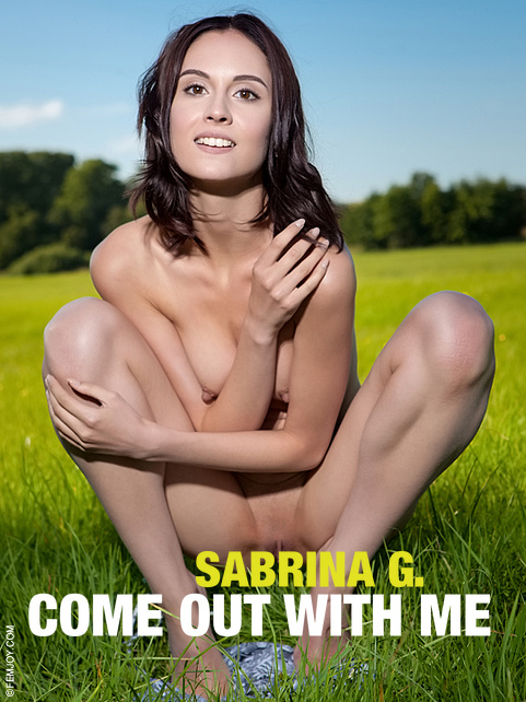Sabrina G - `Come Out With Me` - by Tom Leonard for FEMJOY