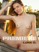 Luna O in Premiere gallery from FEMJOY by Cosimo