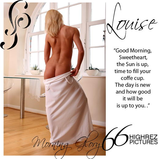 Louise - `Morning Glory` - by Diana Kaiani for FEMMEPHOTOGRAPHY