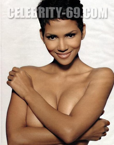 `Halle Berry` - for FIRST-NUDE