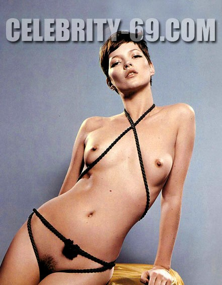 `Kate Moss` - for FIRST-NUDE