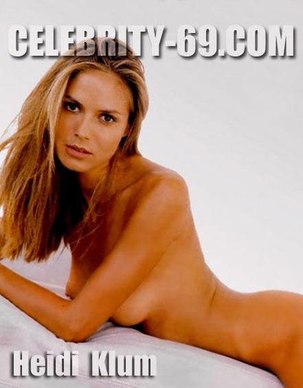 `Heidi Klum` - for FIRST-NUDE