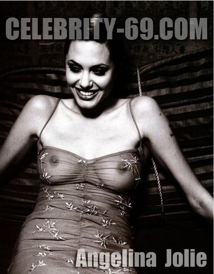 `Angelina Jolie` - for FIRST-NUDE