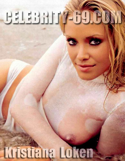 `Kristiana Loken` - for FIRST-NUDE