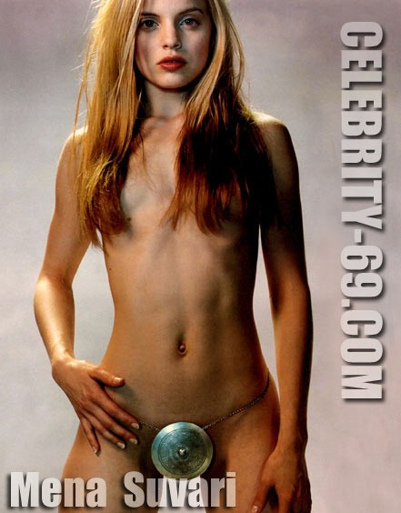 `Mena Suvari` - for FIRST-NUDE