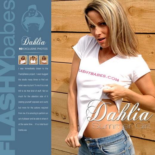 Dahlia - `Summer Girl` - for FLASHYBABES