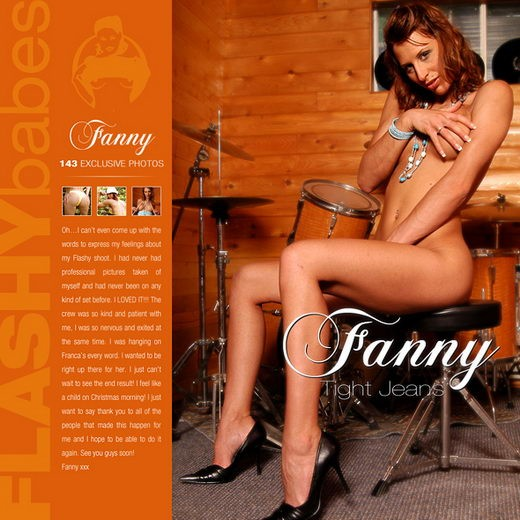 Fanny - `Tight Jeans` - for FLASHYBABES