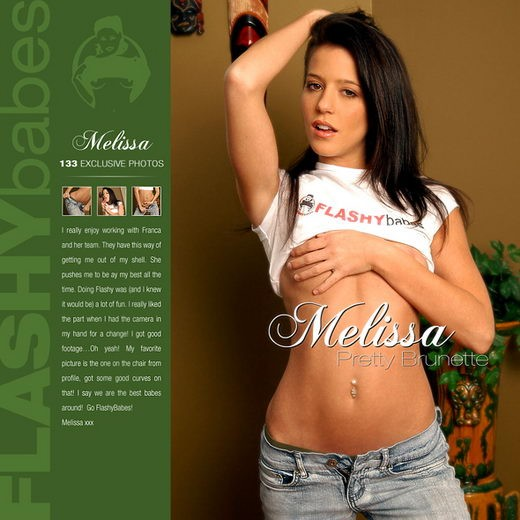 Melissa - `Pretty Brunette` - for FLASHYBABES