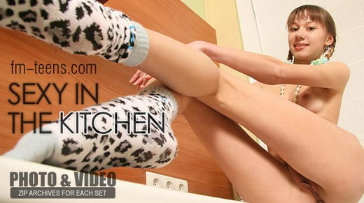 Alina - `Sexy in the Kitchen` - for FM-TEENS