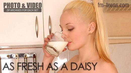 Anna - `As Fresh As A Daisy` - for FM-TEENS