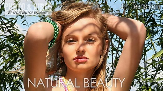 Anna - `Natural Beauty` - for FM-TEENS