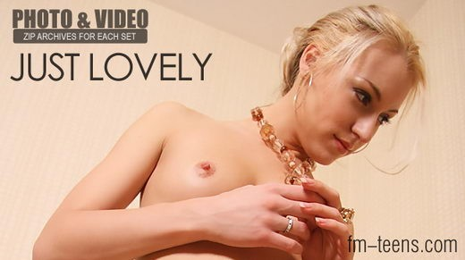 Dasha - `Just Lovely` - for FM-TEENS
