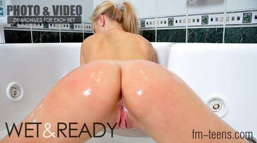 Jana - `Wet & Ready` - for FM-TEENS