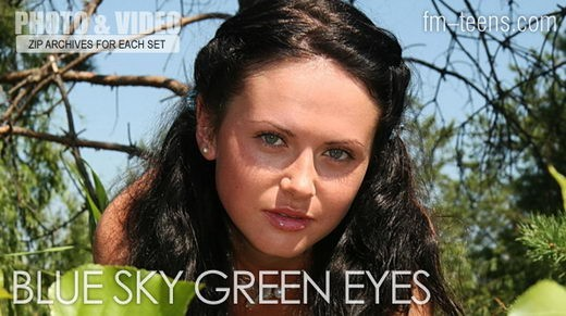 Julia - `Blue Sky Green Eyes` - for FM-TEENS
