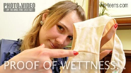 Julia - `Proof Of Wetness` - for FM-TEENS
