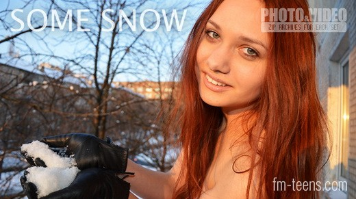 Julya - `Some Snow` - for FM-TEENS