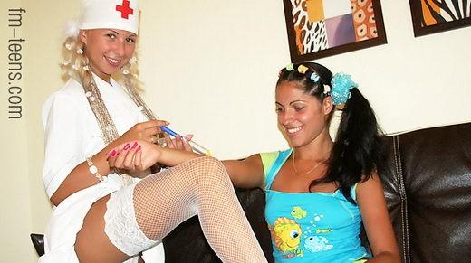Karolina & Zarina - `fm-06-06` - for FM-TEENS
