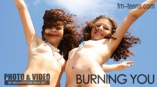 Lena + Tanya - `Burning You` - for FM-TEENS