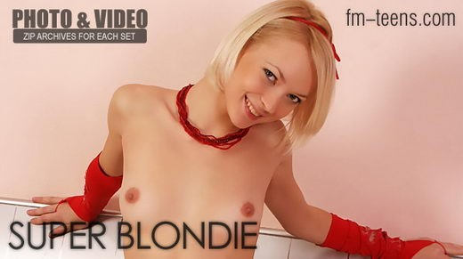 Margo - `Super Blondie` - for FM-TEENS