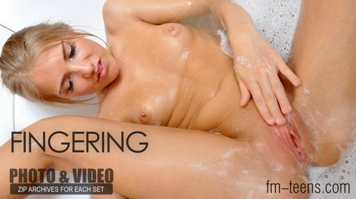 Natasha - `Fingering` - for FM-TEENS