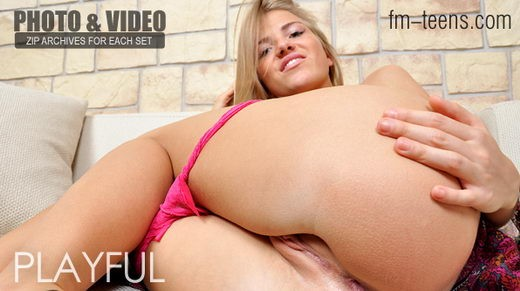 Natasha - `Playful` - for FM-TEENS
