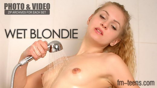 Nata - `Wet Blondie` - for FM-TEENS