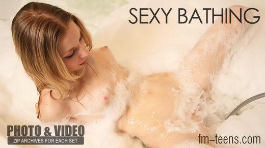 Olga - `Sexy Bathing` - for FM-TEENS