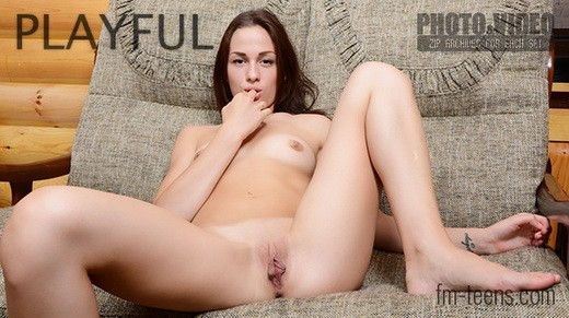 Sasha - `Playful` - for FM-TEENS
