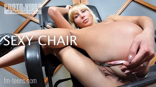 Victoriya in Sexy Chair gallery from FM-TEENS