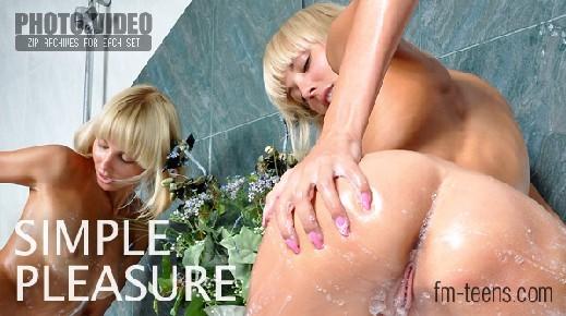Victoriya in Simple Pleasure gallery from FM-TEENS