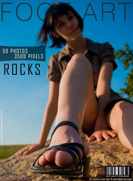 Kristina - `Rocks` - for FOOT-ART