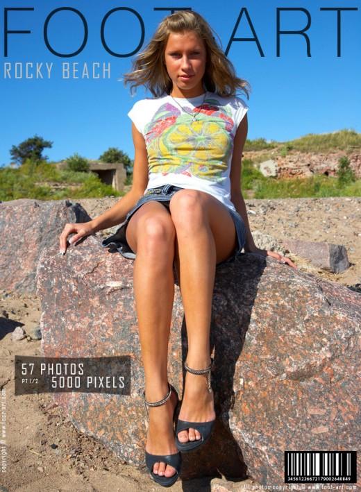 Anna - `Rocky Beach - Part 1` - for FOOT-ART