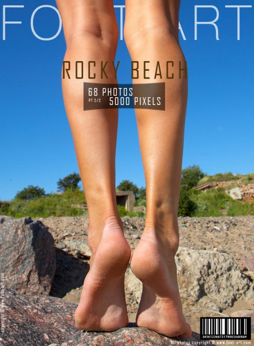 Anna - `Rocky Beach - Part 2` - for FOOT-ART